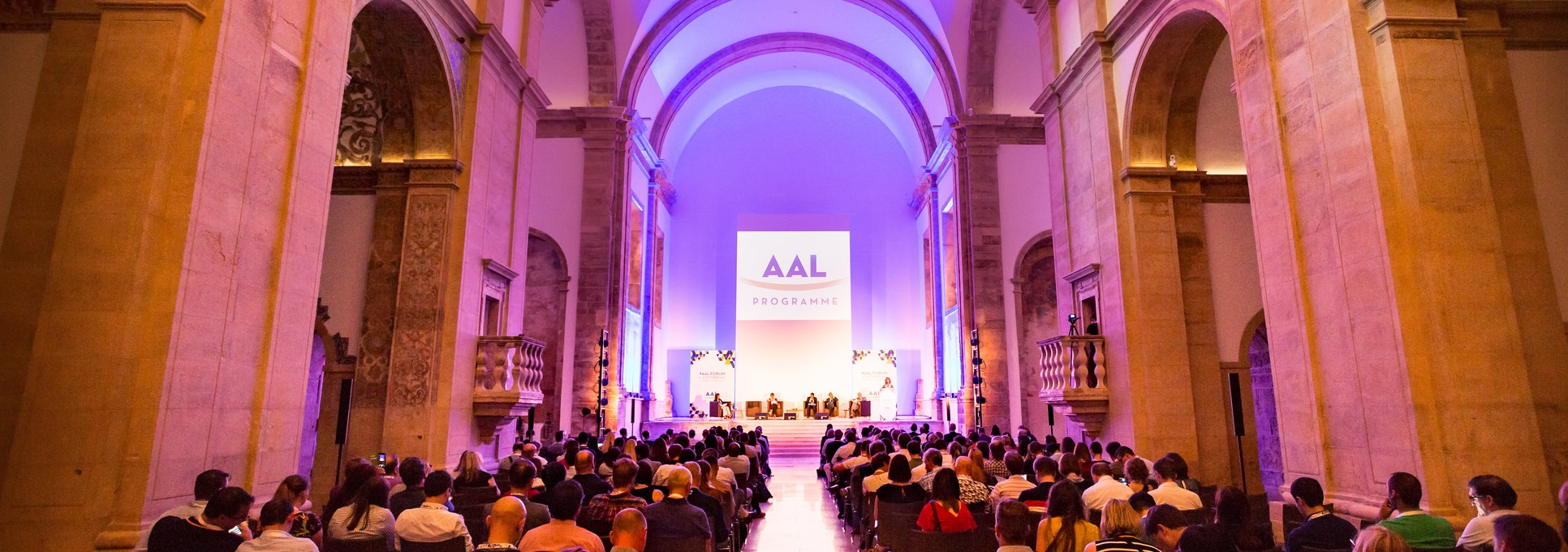 AAL Forum 2017 Plenary session banner