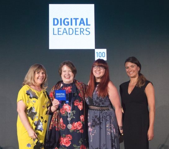 Age UK Digital Charity leader 2018