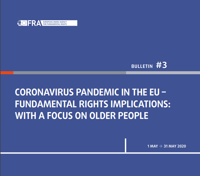 FRA-report_PandemicFundamentalRightsImplactions_OlderPeople-May20-cover