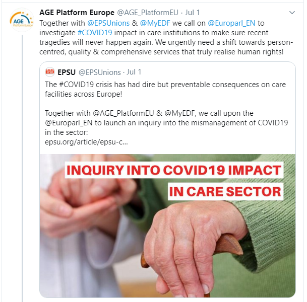 Joint_EPSU-AGE-EDF_call_EP_enquiry_LTC&COVID-tweet-Jul20