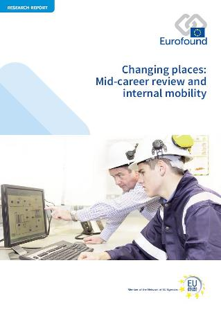 Mid-career review-cover Eurofound report 2017