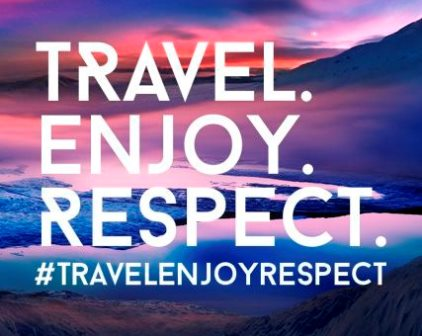 travel.enjoy.respect Y2017 campaign